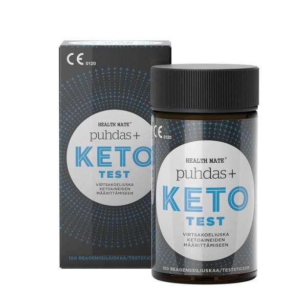 Pudas+ KETO test liuskat ovat helppo ja edullinen tapa aloittaa ketoosi mittaus